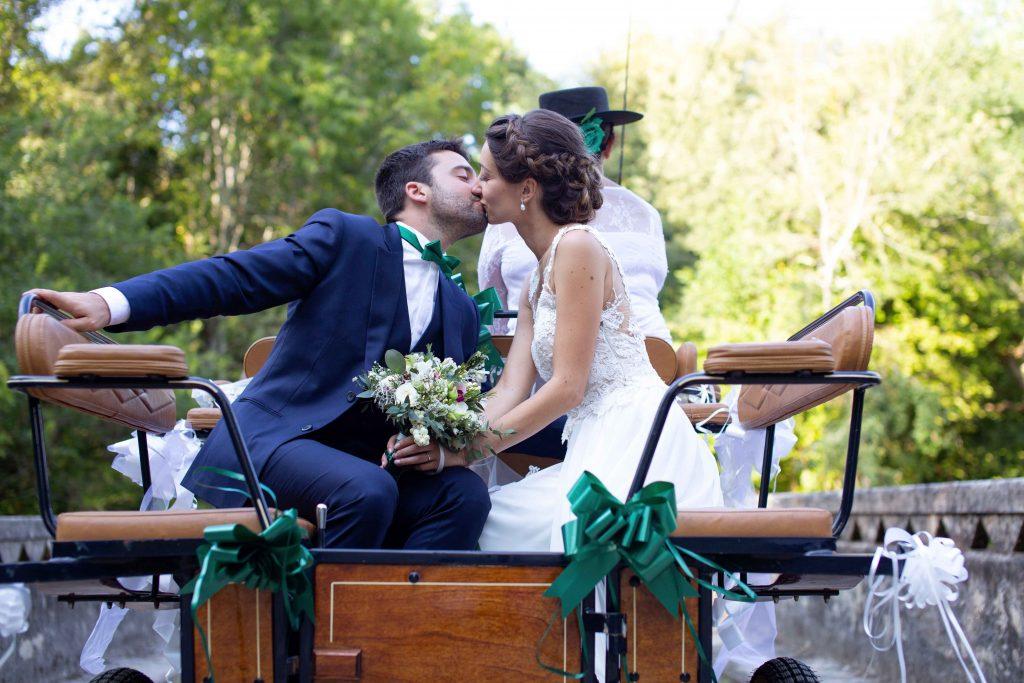Session photo Couple pour le Mariage de Marine et Thibault à Bougue