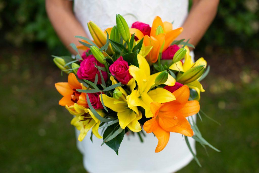 Bouquet de fleur de Céline à Roquefort dans les Landes