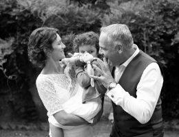 Photo de famille au Mariage à Roquefort 40
