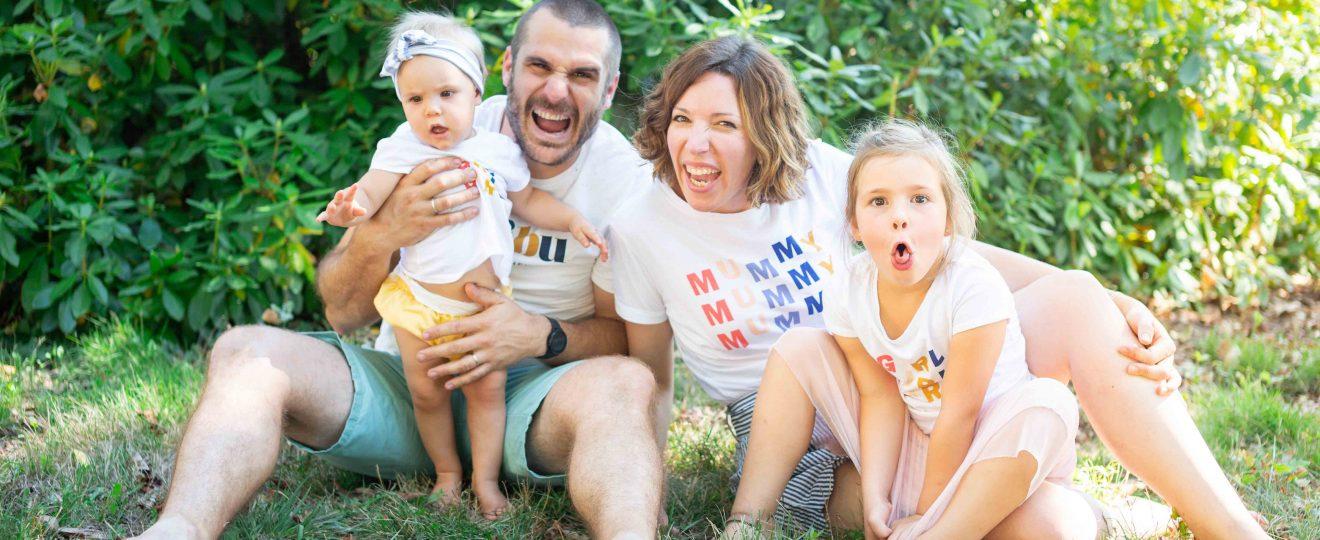 Séance photo famille Domaine de Cap'bat Saint Perdon